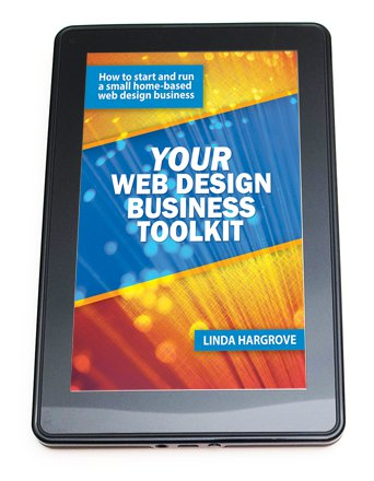 web design business toolkit book cover on kindle